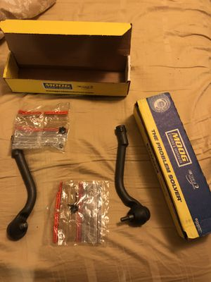 Unused Left&Right MOOG tie-rod ends (castle nuts included) for Sale in West Mifflin, PA