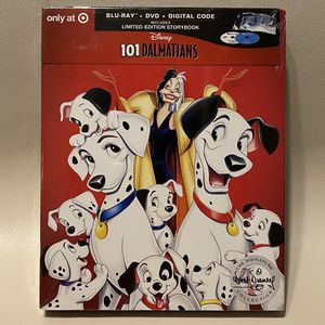 *New* Disney's 101 Dalmatians BluRay + DVD + Digital Code for Sale in Orangevale, CA