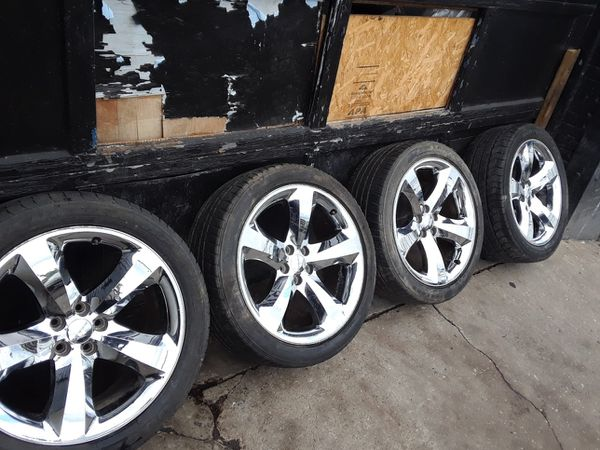 "Dodge, Charger and magnum 20"" chrome rim for only $650"