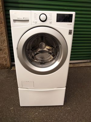 New washer lg for Sale in Seattle, WA