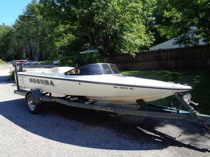 1998 moomba boomerang ski / wakeboard boat with trailer will trade for Sale in Westford, MA