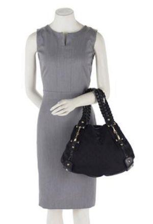 GUCCI Monogram Large Pelham Shoulder Bag (Black) for Sale in Surprise, AZ