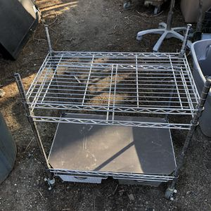 Metal Stand On Rollers for Sale in Cerritos, CA