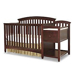 Convertible crib with changing table and pad for Sale in Austin, TX