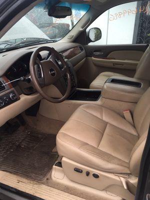 07-13 GMC Sierra Chevy Silverado tan leather LTZ SLT interior seats dash console nav etc OEM for Sale in Fort Lauderdale, FL