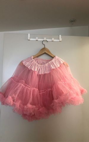 Pink tulle skirt petticoat tutu for Sale in Los Angeles, CA