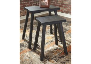 NEW, Marisburg Black Accent Table (Set of 2), SKU# A4000230 for Sale in Huntington Beach, CA