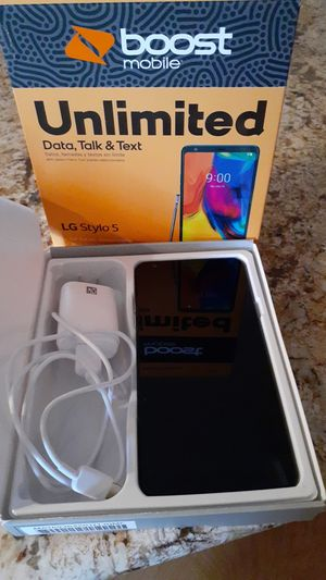 LG Stylo 5 for Boost Mobile for Sale in Hesperia, CA