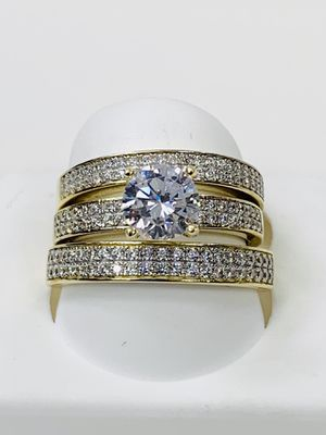 10k gold wedding ring brand new ( item#MMR03) for Sale in Chicago, IL