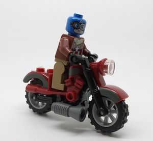 Lego Captain America with Motorcycle Minifigure for Sale in Anaheim, CA