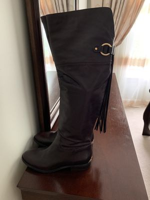 Brand new Michael kors dark brown above the knees high boots for Sale in Fairfax, VA
