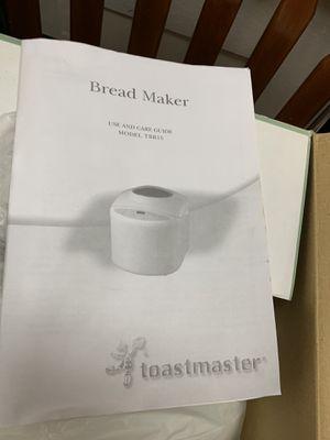 Toastmaster bread 🍞 maker for Sale in Farmington, MI