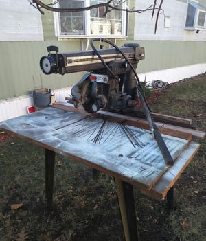 "12"" Radial arm saw & mitor for Sale in Boston, MA"