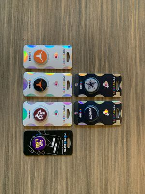 Popsockets phone grip and stand $5 each Have multiples of some for Sale in Frisco, TX