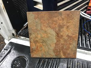 "12""x12"" Tuscan slate tiles 200sq ft for Sale in Gig Harbor, WA"
