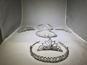 Wedding head bands beautiful crystal and pearl head dress for Sale in Martinez, CA