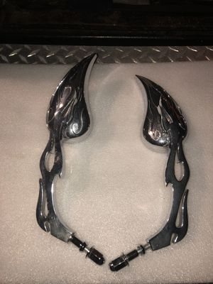 Flame motorcycles mirrors for Sale in Costa Mesa, CA