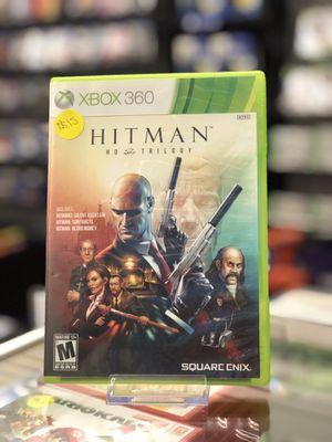 Hitman HD Trilogy for the Xbox 360 for Sale in San Bernardino, CA