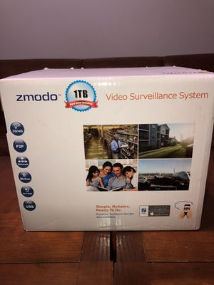 Zmodo Video Surveillance System w/ 8 cameras for Sale in Charlotte, NC