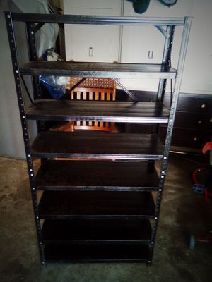 Metal shelving some surface rust for Sale in Evansville, IN