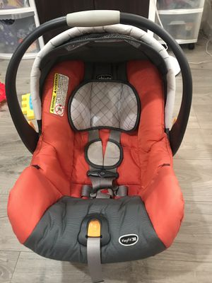 Chicco keyfit 30 infant newborn baby cushion car seat for Sale in La Puente, CA