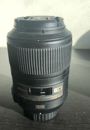 Nikon DX 85mm Macro Lens for Sale in Austin, TX