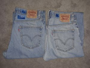 32-29 Levi's both for $35 or 1 for $20 for Sale in Hemet, CA