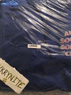 Anti Social Social Club Stir Crazy Hoodie Blue for Sale in Las Vegas,  NV