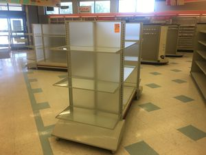 Rack with Glass Shelves for Sale in Dexter, ME