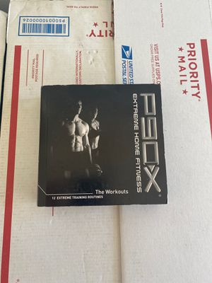 P90x extreme home fitness 12 workout dvds for Sale in Visalia, CA