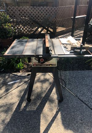 Sears Craftsman 10 Inch Motorized Table Saw for Sale in Sacramento, CA