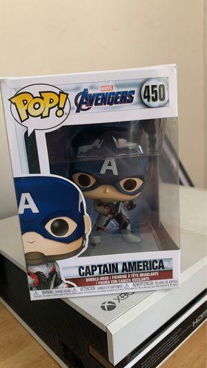 Marvels avengers captain America Funko pop for Sale in Vista, CA