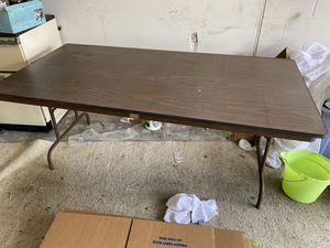 Folding table x 2 Free for Sale in Tampa, FL