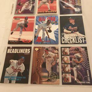 90+ Greg Maddux baseball cards for Sale in Arlington, VA