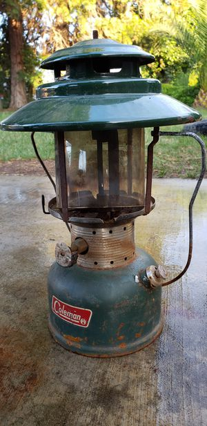 Colman lantern w/case for Sale in Squaw Valley, CA