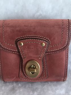 Coach Legacy French Rose Suede Bifold Wallet for Sale in Homestead,  PA