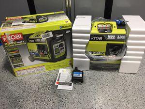Ryobi generator Bluetooth 1800 (READ POST) for Sale in Lemont, IL
