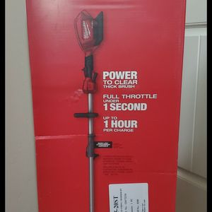 Brand new never used Milwaukee M18 FUEL 18-Volt Lithium-Ion Cordless Brushless String Grass Trimmer with Attachment Capability (Tool-Only $$ 150 firm for Sale in Bakersfield, CA