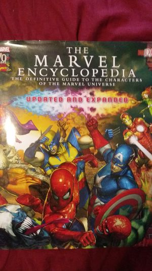 Marvel 70 years Marvel comic. The Marvel Encyclopedia for Sale in Jurupa Valley, CA