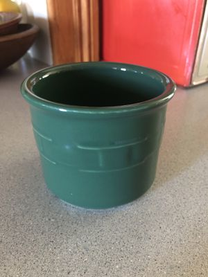 Longaberger Woven Traditions salt crock for Sale in Molalla, OR