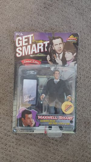 Get smart Maxwell smart action figure for Sale in Tacoma, WA