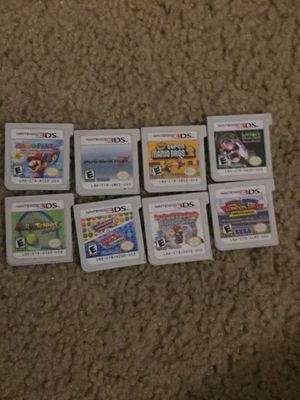 Nintendo 3DS Mario games (Pick up only) for Sale in Houston, TX