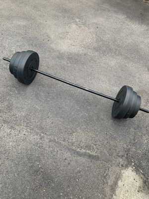 100 lb Vinyl Weight set for Sale in Lawrence, MA