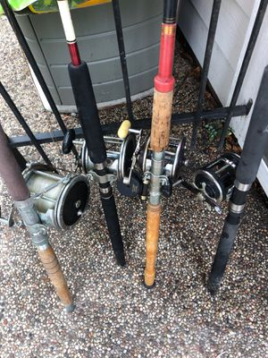 Penn Fishing reel and rod lot for sale for Sale in Spring, TX