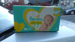Pampers diapers size 1 & 2 for Sale in Portland, OR