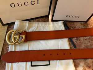 Gg dble g brown belt for Sale in Sunnyvale, CA