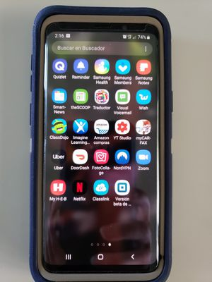 Samsung galaxy S9 serious offers only comes with otter box protector for Sale in Maxwell, TX