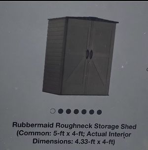 Rubbermaid shed 5 x 4 for Sale in Manassas, VA