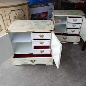 Asian Art End Tables for Sale in Vancouver, WA