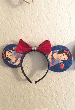 Snow White Disney Ears for Sale in Riverside, CA